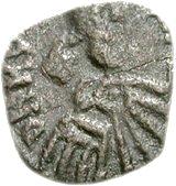 25 denarii Thrasamund (Carthage; 50 denarii dé) – avers
