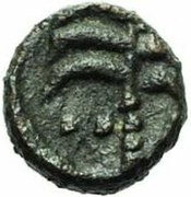 1 nummus Roi Incertain (Carthage) – revers