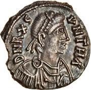50 Denarii Gunthamund (Carthage) – avers