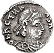 50 denarii Thrasamund (Carthage; sans valeur) – avers