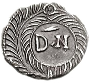 50 denarii Thrasamund (Carthage; sans valeur) – revers