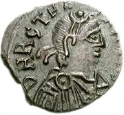50 denarii Thrasamund (Carthage; avec valeur) – avers