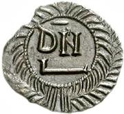 50 denarii Thrasamund (Carthage; avec valeur) – revers