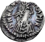 50 denarii Gélimer (Carthage) – avers