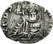 1 silique Anonyme / Au nom d'Honorius, 393-423 (Carthage) – revers