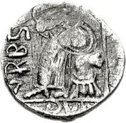 1 silique Genséric / Au nom d'Honorius, 393-423 (Carthage) – revers