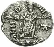1 silique Hunéric / Au nom d'Honorius, 393-423 (Carthage) – revers