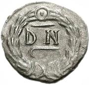 100 denarii Gunthamund (Carthage) – revers