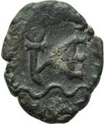 1 nummus Anonyme / Au nom de Léon I, 457-474 (Carthage) – revers