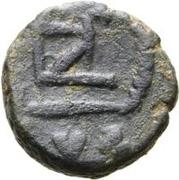 1 nummus Anonyme / Au nom de Zénon, 474-491 (Carthage; type 2) – revers