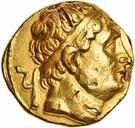 Statère de Diodotus I – avers