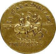 20 statères d'Eucratide Ier – revers