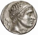 Tetradrachm - Diodotos II – avers