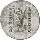 Tetradrachm - Antimachos I (Pushkalavati) – revers