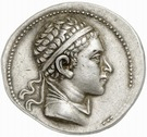 Tetradrachm - Euthydemos II – avers