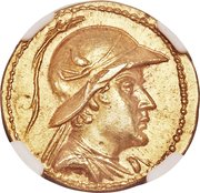 Stater - Eucratides I – avers