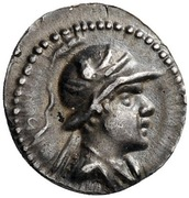 Obol - Eukratides I – avers