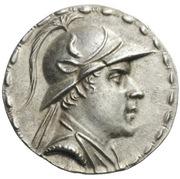 Tetradrachm - Eukratides I – avers