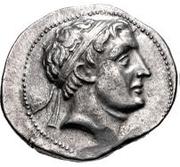 Tetradrachm - Euthydemos I – avers