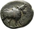 Bronze AE16 (Ariarathes X) – avers