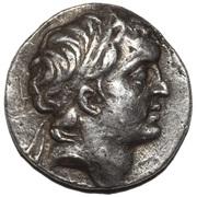 Drachm - Ariarathes V Eusebes – avers
