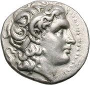 Drachme de Lysimaque (Royaume de Thrace) – avers