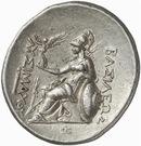 Tetradrachm -  Lysimachos (Pergamon) – revers