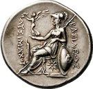 Tetradrachm - Lysimachos (Lampsakos) – revers