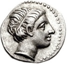 Obol  Lysimachus,King oF Thrace – avers