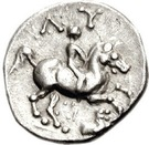 Obol  Lysimachus,King oF Thrace – revers