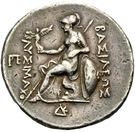 Tetradrachm - Lysimachos (Sardes) – revers