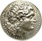 Tétradrachme de Lysimaque (Royaume de Thrace) – avers