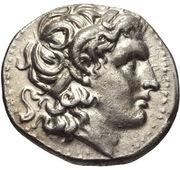 Silver drachm – avers
