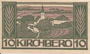 10 Heller (Kirchberg an der Donau) – avers