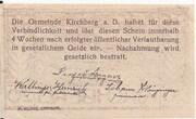20 Heller (Kirchberg an der Donau) – revers