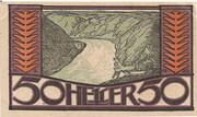 50 Heller (Kirchberg an der Donau) – avers