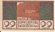99 Heller (Kirchberg an der Donau) – avers