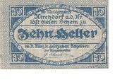 10 Heller (Kirchdorf an der Krems) – avers