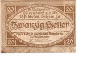 20 Heller (Kirchdorf an der Krems) – avers