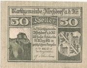 50 Heller (Kirchdorf an der Krems) – avers