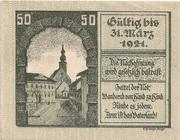 50 Heller (Kirchdorf an der Krems) – revers