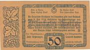 50 Heller (Kirchham) -  revers