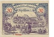 30 Heller (Kirchham) – avers