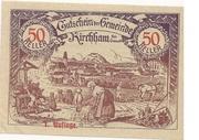 50 Heller (Kirchham) – avers