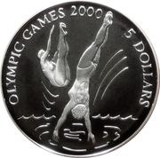 5 dollars (Jeux olympiques Sydney 2000) – revers
