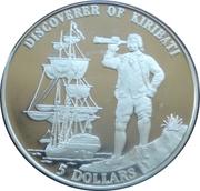 5 dollars (Découverte de Kiribati) – revers