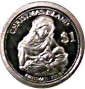 1 dollar (Marie et l'enfant Jésus) – revers
