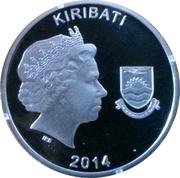 10 dollars - Elizabeth II (Départ pour la guerre 1914) – avers