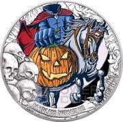 5 Dollars (Headless Horseman) – revers