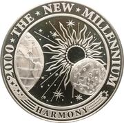 5 dollars (Nouveau millénaire) – revers